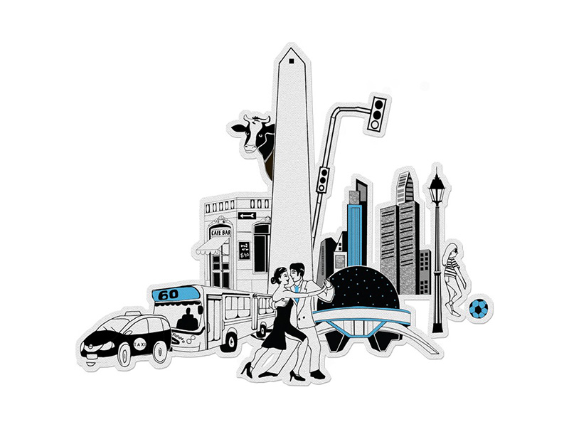 Buenos Aires Para Colorear En 3d Bentejuego Tienda Online