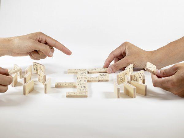 No soy un dominó juego didáctico y educativo de creatividad tienda online