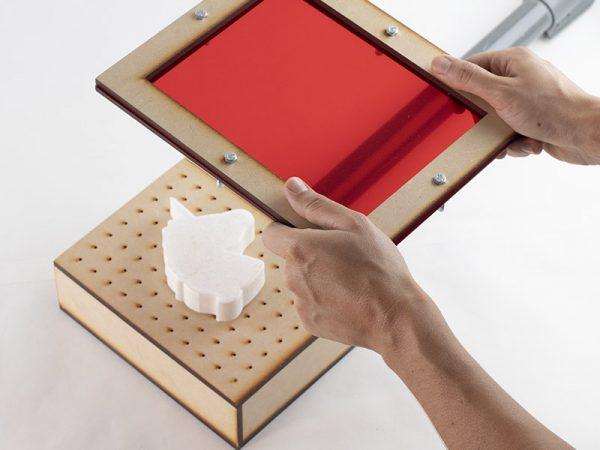 diseño 3d termoformado bentejuego