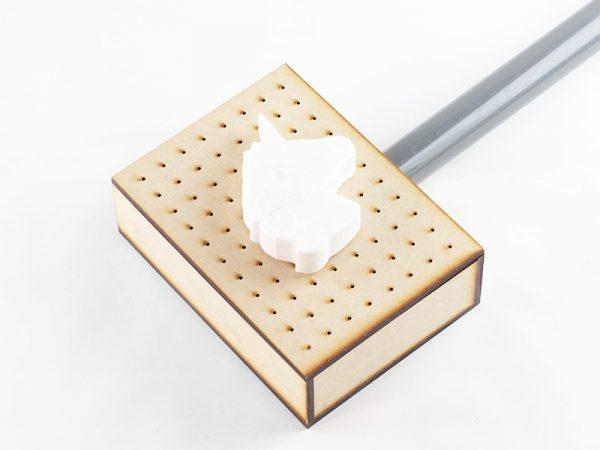 diseño 3d termoformado para hacer moldes bentejuego