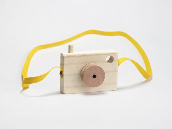 camara de fotos de madera para armar carpinteria